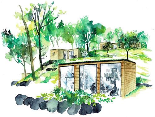 Accueil Volvic Organic Resort