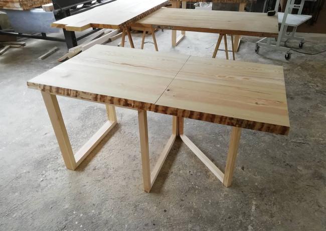 Table bois pliante