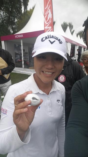 Lydia Ko GolfCross