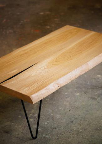 Table bois Vincent Leclerc