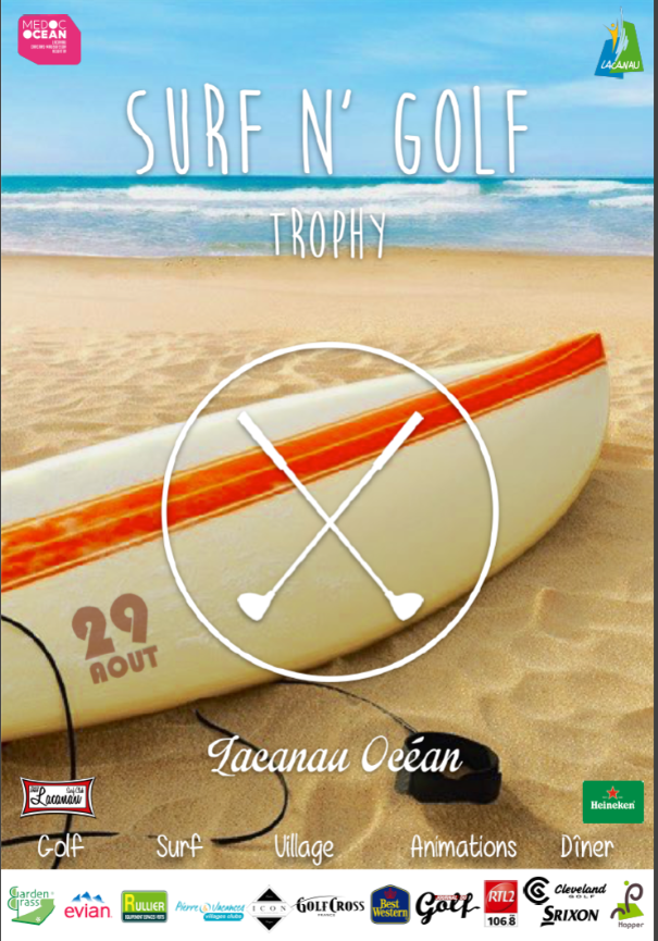 Surf N' Golf Trophy