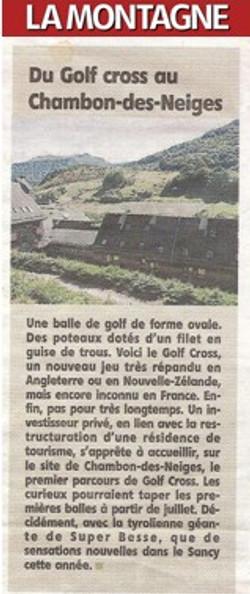 LA MONTAGNE 30.06.2013
