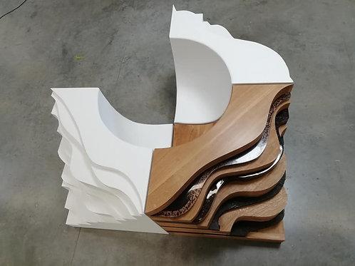 Fauteuil Sculpture