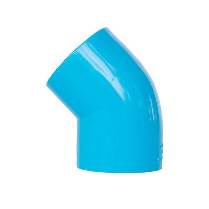 Codo PVC 45º 40mm PN10