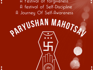 Paryushan 2019 (Aug 26 - Sept 3) - Conclusion