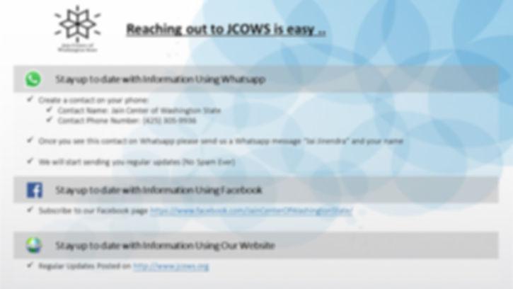 contact jcows