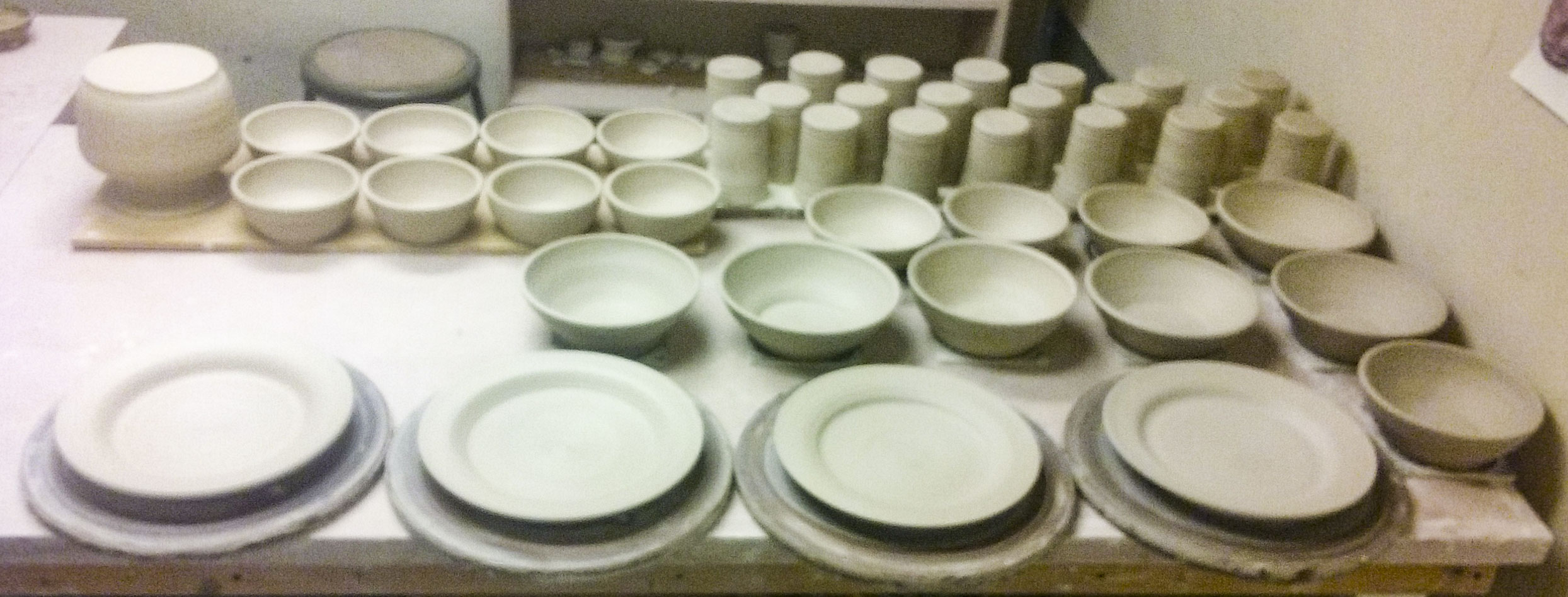 Greenware Dinnerware