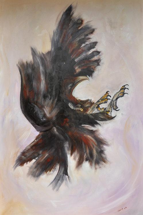 Jenny Beach-Transformation-Oil on Canvas-1.5x1m