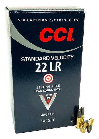CCI Standard Velocity 22LR 40gr LRN Brick
