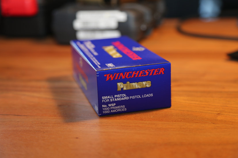 WSP Winchester Small-Pistol Primers