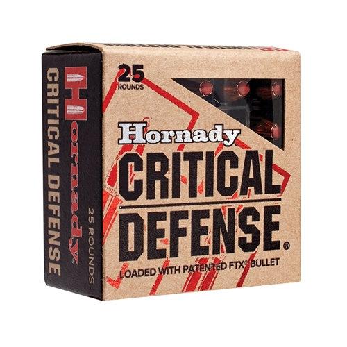 Hornady Critical Defense 115gr FTX