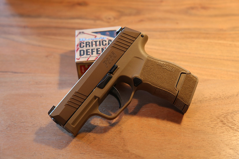 Sig Sauer P365 Coyote NRA