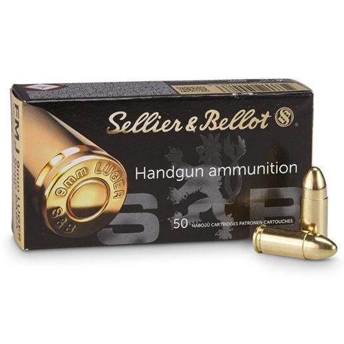 S&B 9mm 124gr FMJ
