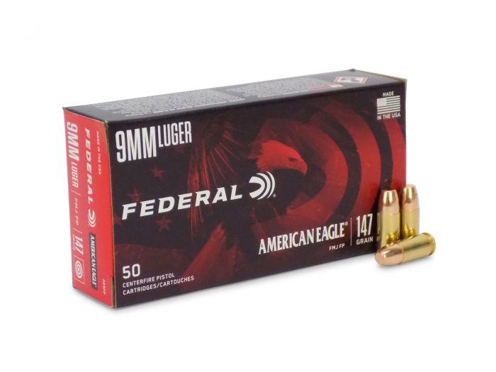 Fed 9mm 147gr FMJ