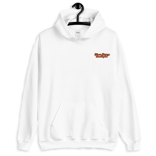 Three Jerrys Embroidered Hoodie