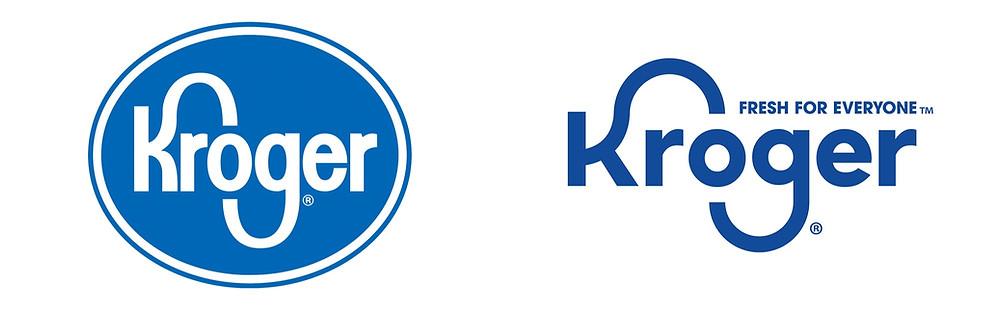 Kroger Logo, Old Vs New