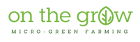 On The Grow Microgreen Farming Logo
