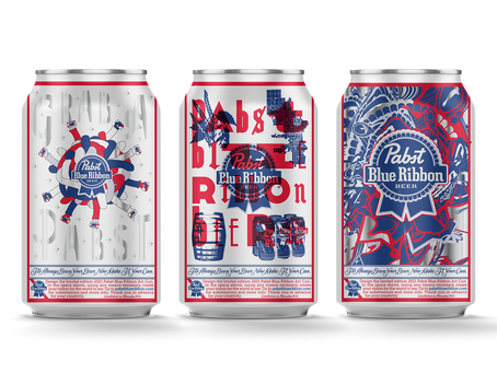 Pabst Blue Ribbon Can Art Competition