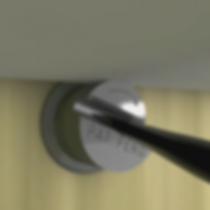 Imagen de como regular la altura de un estante con un soporte de Spiral Suppots