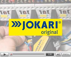 Carpeta de vídeos de la marca Jokari