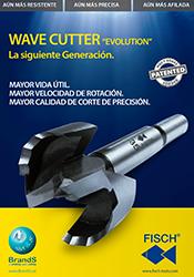 Catálogo brocas Fostner Wave Cutter de Fisch en PDF para descargar