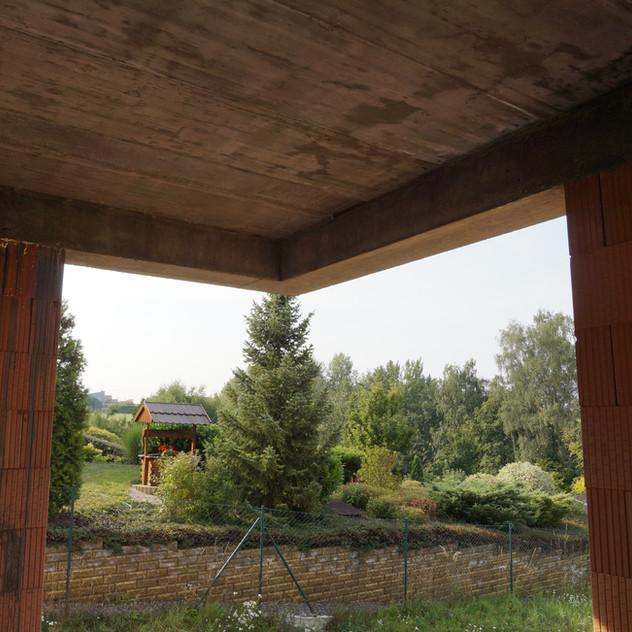 Betonový strop Těchov