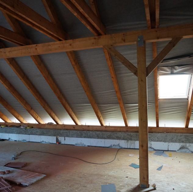 Konstrukce dřevěné střechy Brno