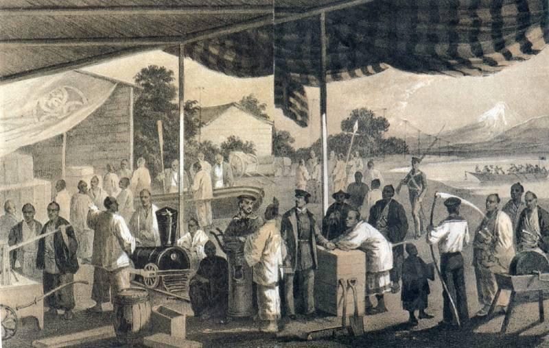 1854年(嘉永7/安政元年)
