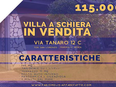 Villa a schiera via Tanaro 12 C, Marina di Ardea