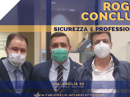 ROGITO CONCLUSO per Immobile zona Nuovo Salario - Roma Nord