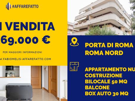 Appartamento Bilocale in Vendita nella Zona di Porta di Roma (Via Piero Tellini)