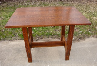 Gustav Stickley Lunch Table