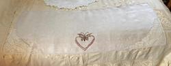 Butterfly Heart Motif Runner