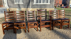 SOLD Gustav Stickley Dining Room Chairs