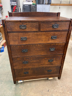 SOLD Gustav Stickley Dresser