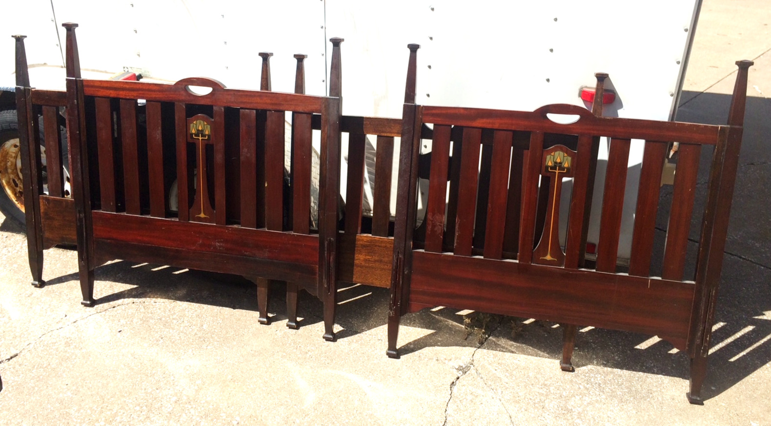 SOLD Luce Single Beds