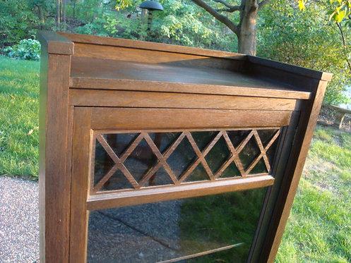 Brooks Furniture Mfg Co. Single Door Bookcase