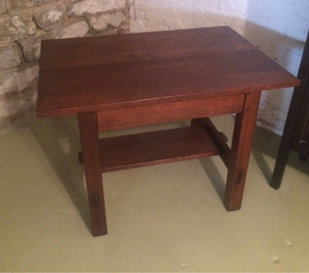L&JG Stickley Library Table