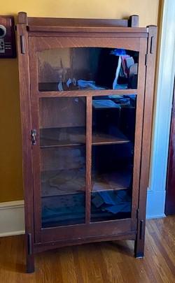 SOLD Limbert Single Door Bookcase
