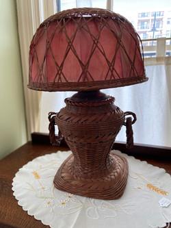 Splint Bamboo Lamp