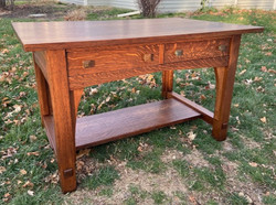 SOLD Limbert Library Table