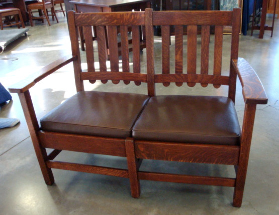 Stickley Brothers Settee