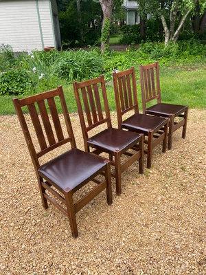 Gustav Stickley Chairs
