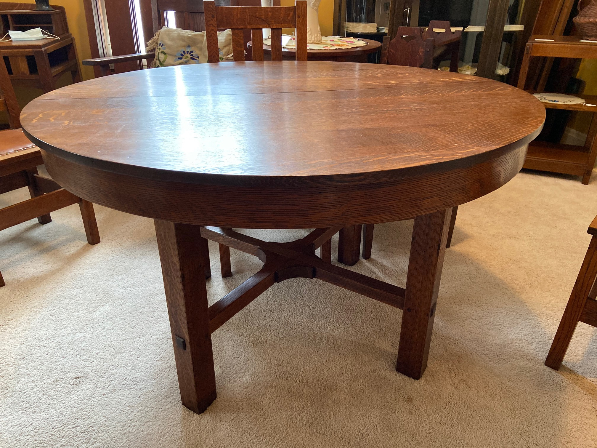 L & JG Stickley Dining Room Table