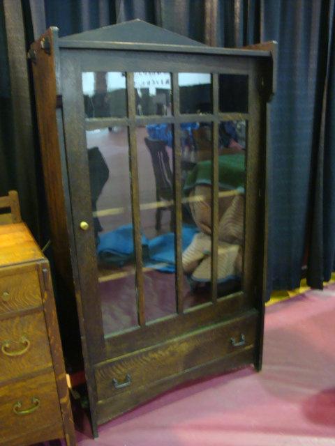Fumed Oak Bookcase