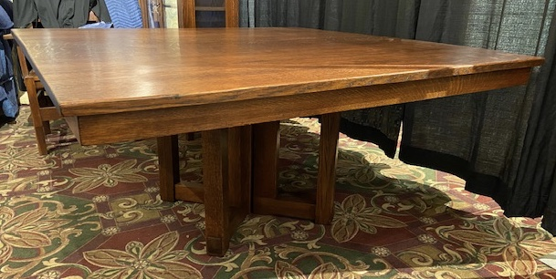 Stickley Brothers Square Dining Room Tab