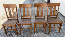 Heart Cut-Out Chairs