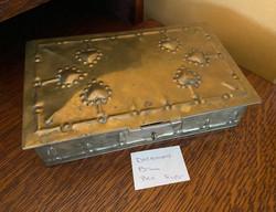 Decorative Brass Box
