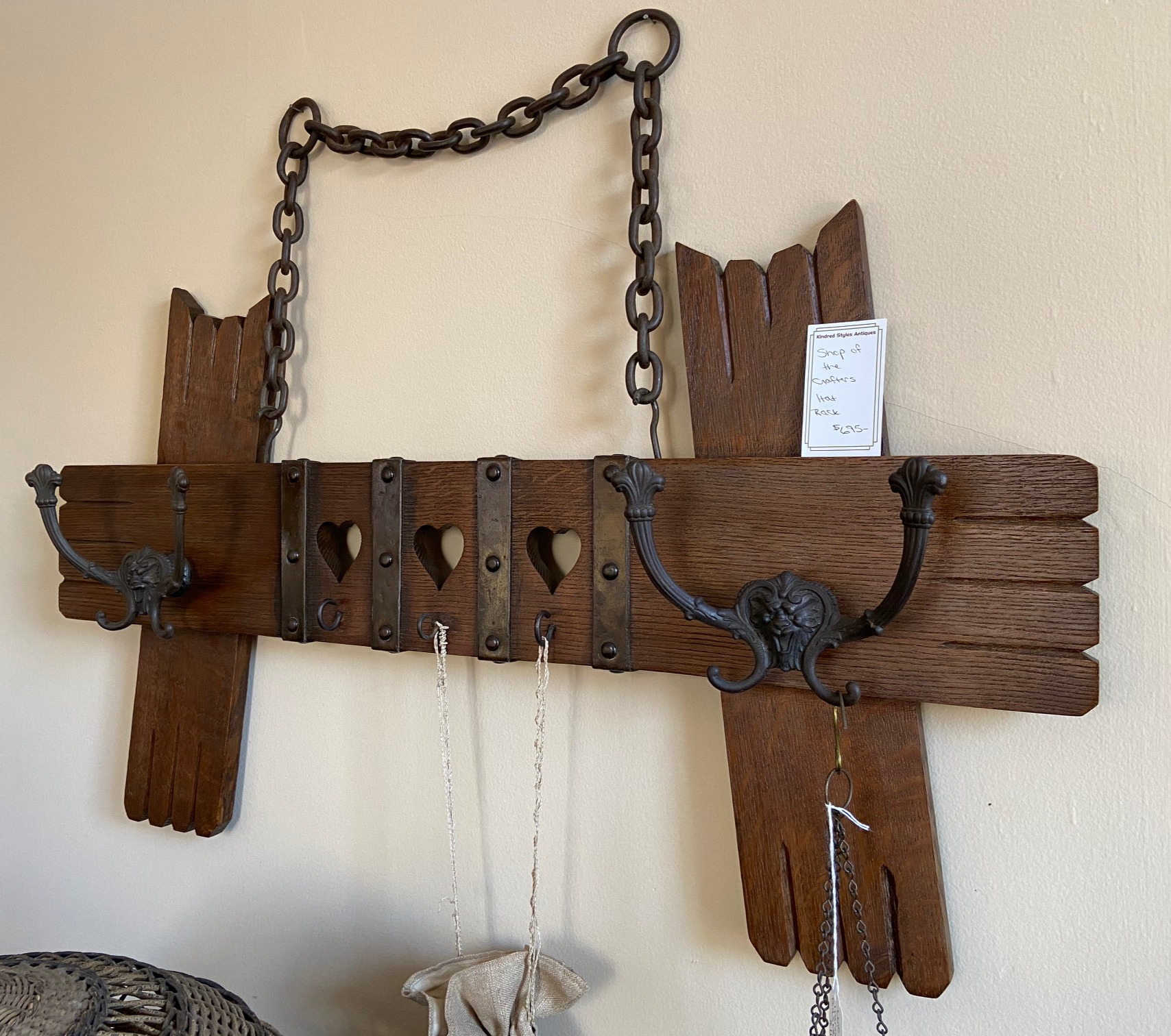 Shop of the Crafters Rack