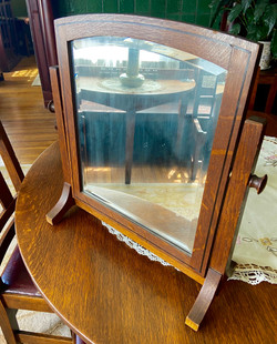 Limbert Ebon Oak Line Mirror